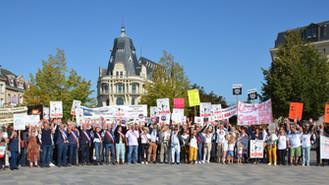 Grand succès de notre manifestation pour la protection du patrimoine et des paysages le 21 Septembre