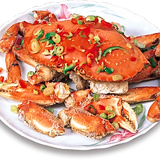Steamed Live Dungeness Crab | 清蒸游水肉蟹