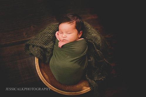 Remote newborn session guide.