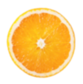 Single orange segment