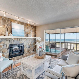 This beach home has been on the market f