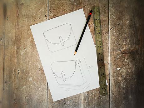 Handbag sketch