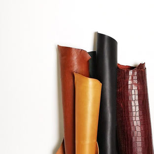 What is vegetable tanned leather?