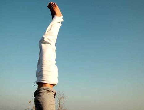 Postures inversées - 10 bienfaits