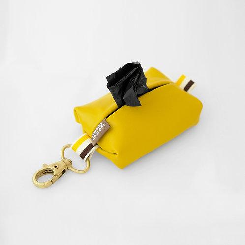 Leather poo bag Capri