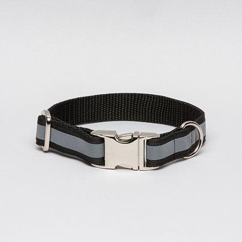 Halsband Reflektor Black Berlin 20