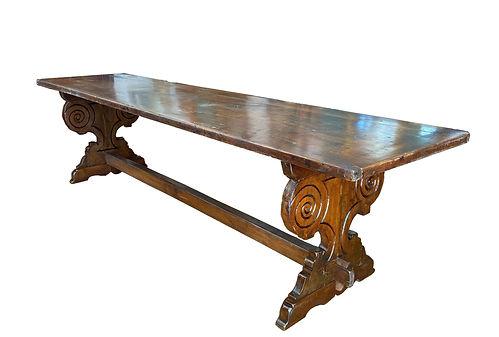 Tuscan Refectory Table - Circa 1850.jpg