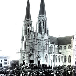 Cathedral Opening Day