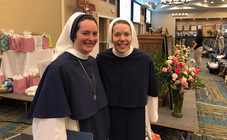 Two Sisters of Life at the Women's Conference