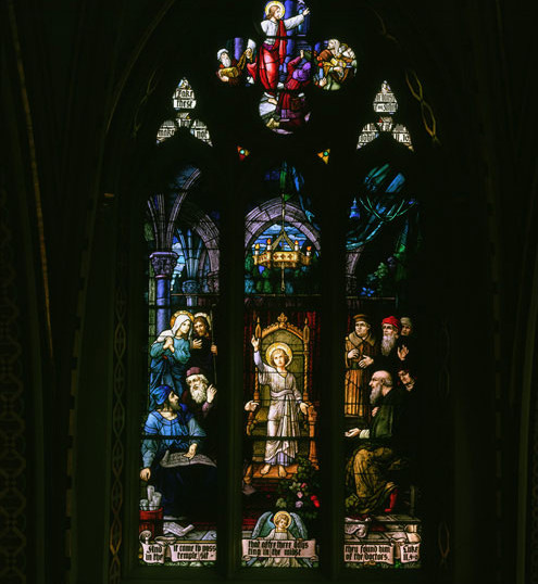 Christ in the Temple 15