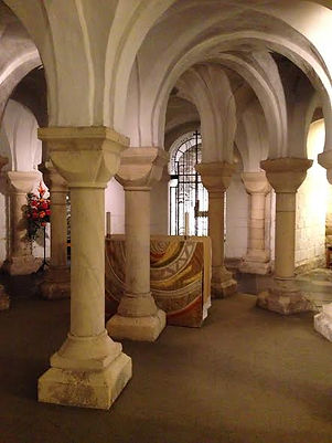 The Crypt Chapel, Worcester Cathedral, England