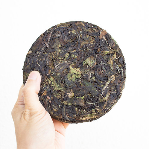 Indian Gushu White Tea Cake