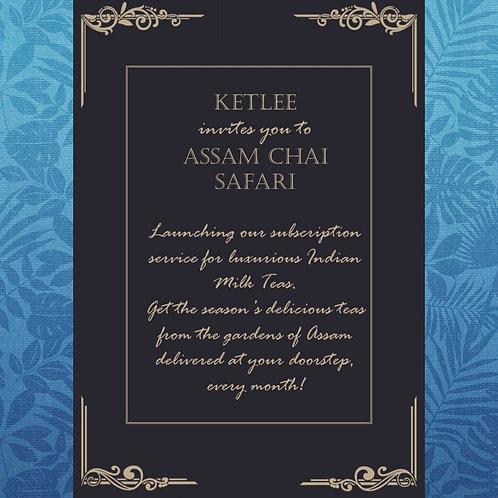 Assam Chai Safari (Monthly Chai Subcription)