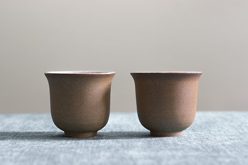 Rust'ic Stoneware Cup Set