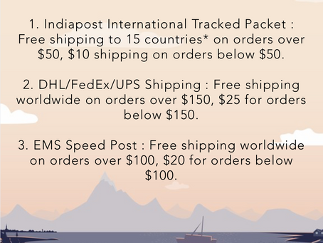 Free shipping is back!