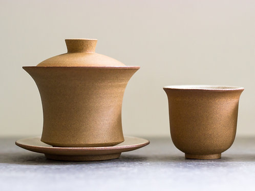 Rust'ic Gaiwan + Cup Set