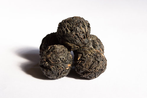 Dragon Pearls Indian Gushu Pu'erh