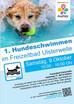 1. Hundeschwimmen im Freizeitbad Ulsterwelle in Hilders am     9. Oktober 2021