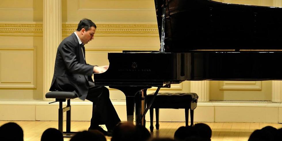 Michael Bulychev-Okser-Piano Masterclass