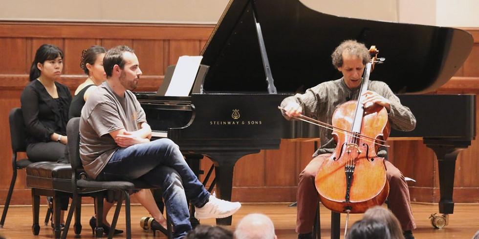 Colin Carr - Cello Masterclass