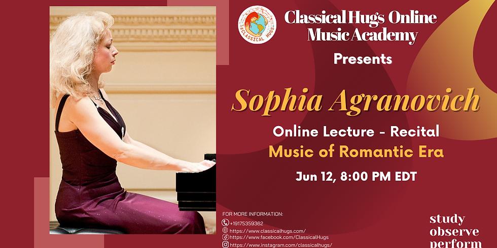 Sophia Agranovich - Piano Recital