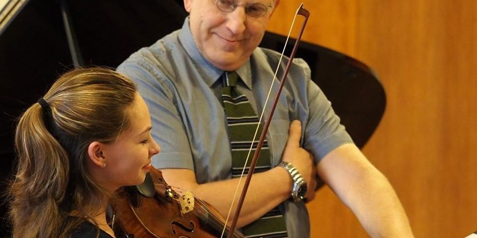 Shlomo Mintz-Violin Masterclass