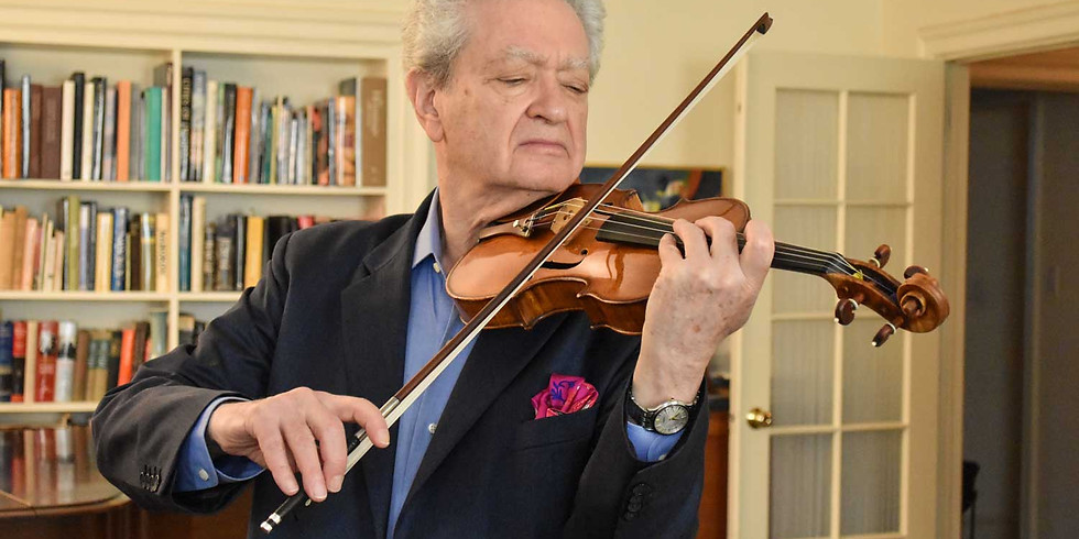 Lewis Kaplan - Violin Masterclass