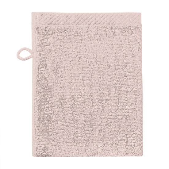 Washand pure old pink (incl initialen)