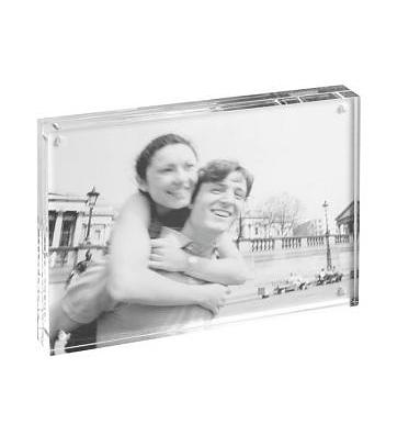 Fotoframe acryl 10x15 (incl naam)