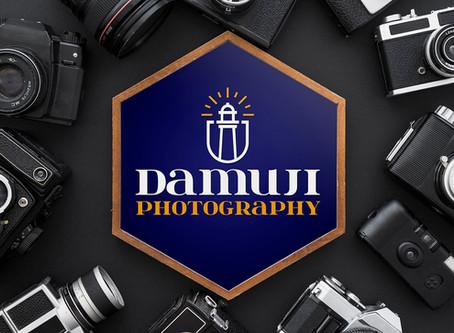 Logotipo Damuji Photography