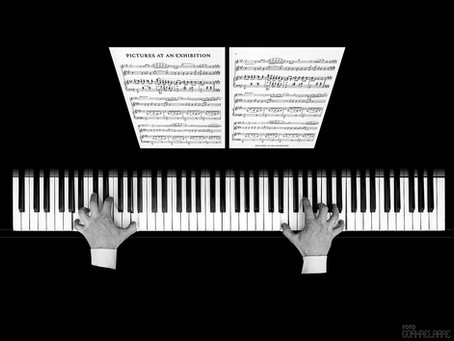 El pianista, segunda clasificada en el  Concurso Fotográfico XXXIV. Bergara Hiria