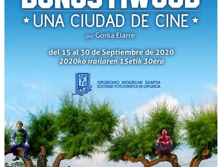 """Exposición """"DonostiWood - Una ciudad de cine"""""""