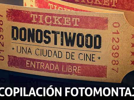 """Vídeo recopilación de los foto montajes realizados para la sección """"Films"""" de DonostiWood"""