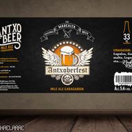 """Antxobeer """"The Original Marealta Beer"""" 2018"""
