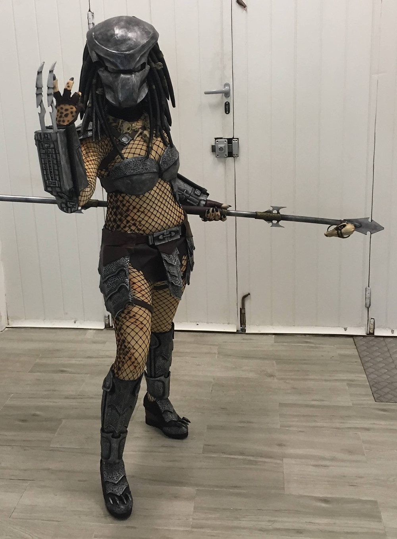Predator hembra