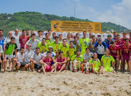Campeonato de España de Fútbol Playa 2018