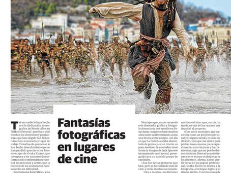 Reportaje Donostiwood en el Diario Vasco