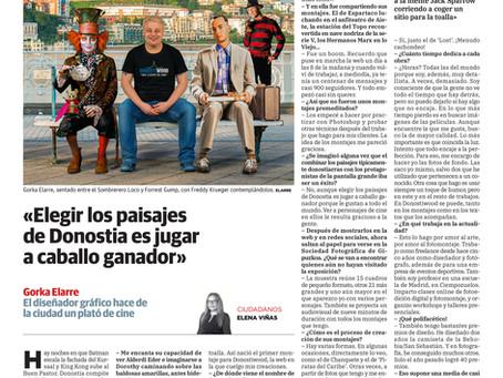 Reportaje Donostiwood en el Diario Vasco II
