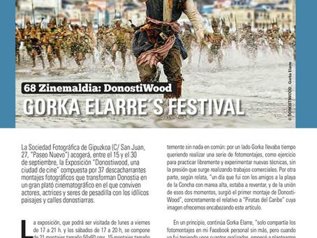 Artículo sobre DonostiWood en la revista Donosti Aisia