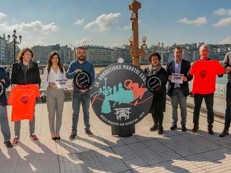 Presentación de la Media Maratón de Donostia San Sebastián 2019