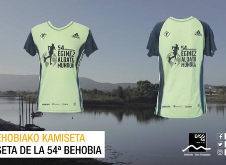 Ganador del diseño para la camiseta de la 54ª Behobia-San Sebastián
