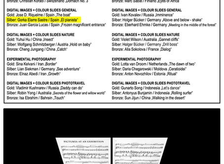 """""""El pianista"""" logra la medalla de plata en el TRIERENBERG SUPER CIRCUIT de Austria"""
