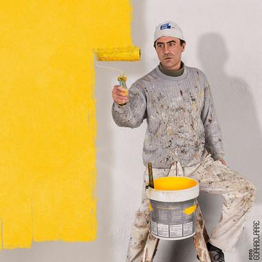 Pintor que te pinta la pantalla