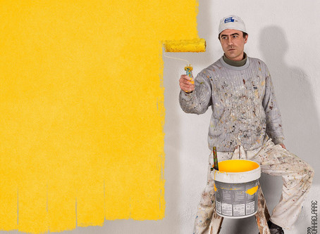 Pintor que te pinta la pantalla. Mejor foto del mes