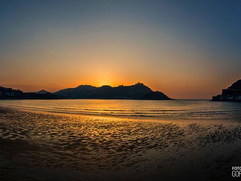 Playa de la Concha - Atardecer