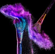 Polvos de colores