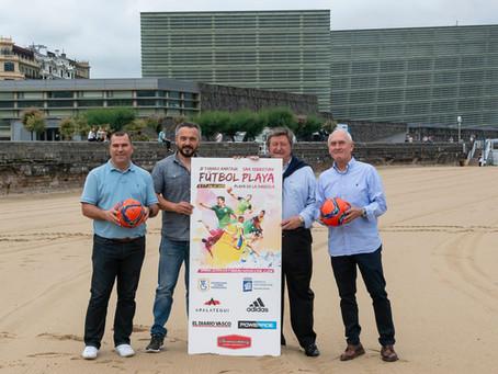 Presentación de la 21ª edición del Torneo Amateur de Futbol Playa.