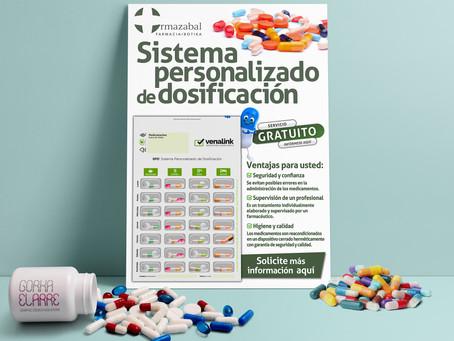 Diseño Cartel informativo para Farmacia Ormazabal