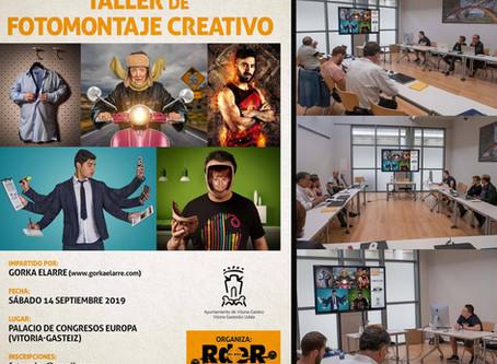 Taller de fotomontaje creativo en Vitoria -Gazteiz