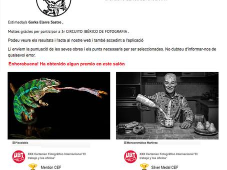 Resultados del III CIRCUITO IBÉRICO DE FOTOGRAFÍA